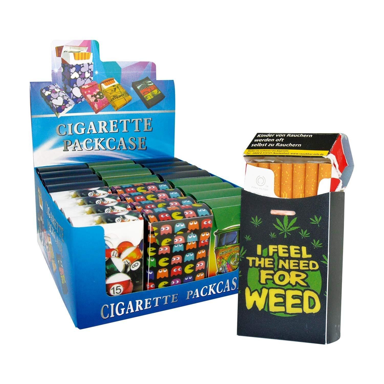 1x - paquete de cigarrillos en estuche `1` humo modelos ...