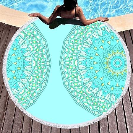 GLONG Redondo Patrón Totem Beach Mat Toalla Yoga Tippet Gasa ...