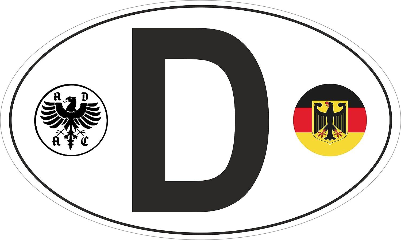 Car Sticker D German Adac Deutschland Crest Auto