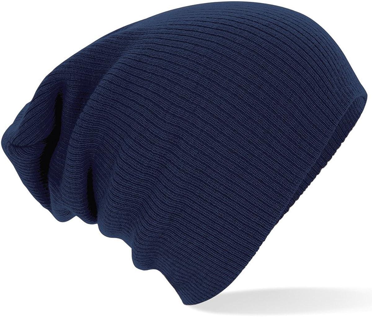 Neuf Bonnet classique Beechfield Bonnet original h graphit Gris 42659