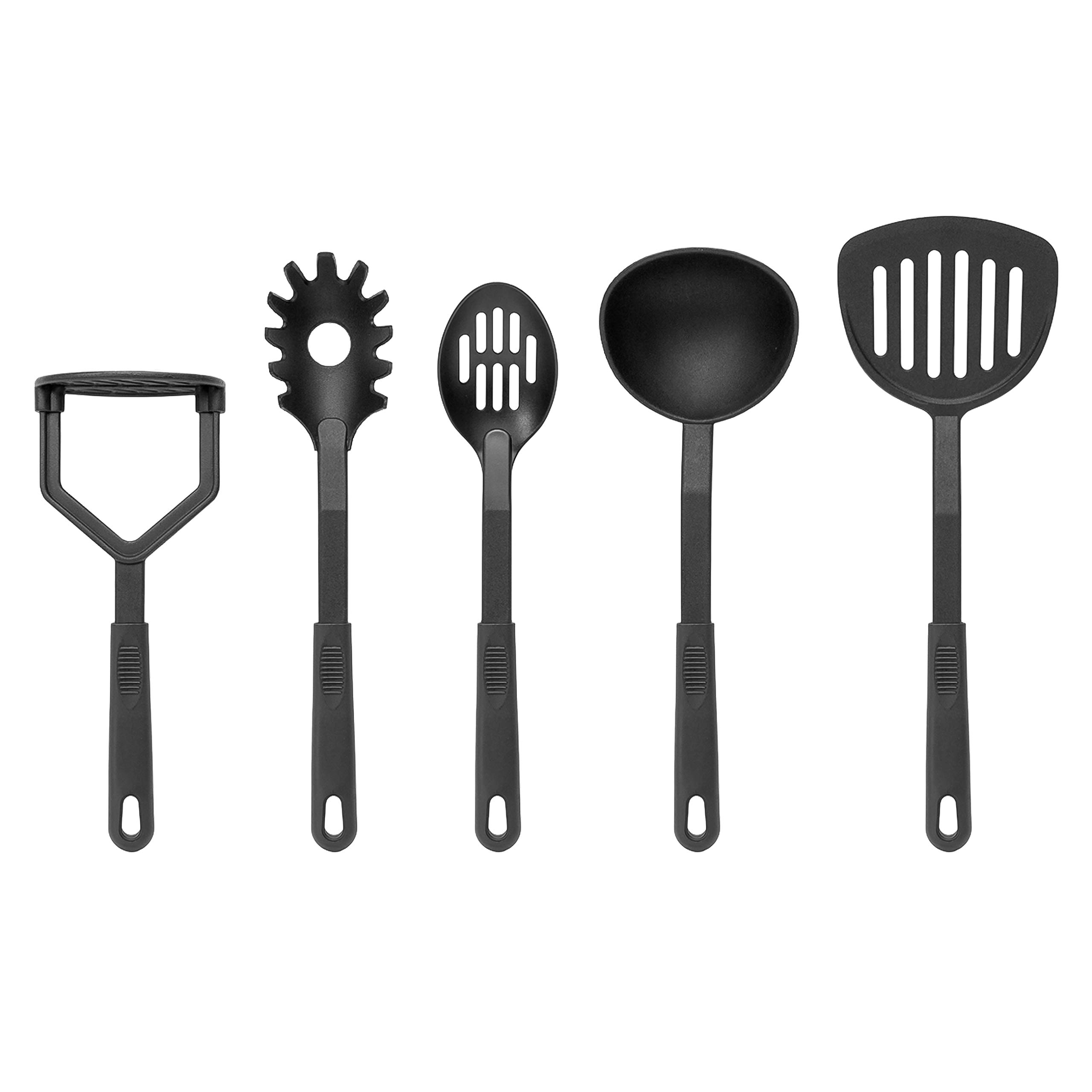 Best Choice Products 15-Piece Nonstick Cookware Kitchen Set w/ 4 Pots, 4 Lids, 2 Pans, 5 BPA Free Utensils - Multicolor by Best Choice Products (Image #7)