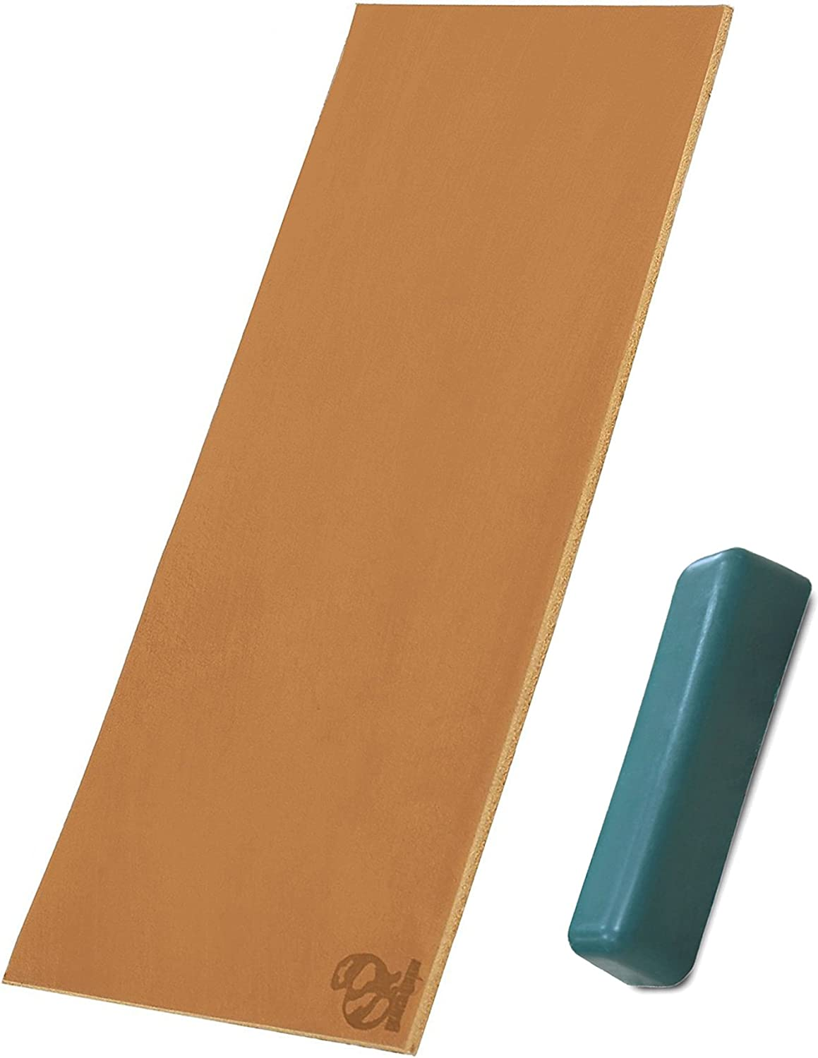 Leather strop Sharpening leather honing strop kit 3 x 8 Inch stropping leather