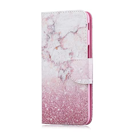 Leather Wallet Flip Stand view Case Cover for Samsung Galaxy S8-Cherry blossoms BONROY Samsung Galaxy S8 Case