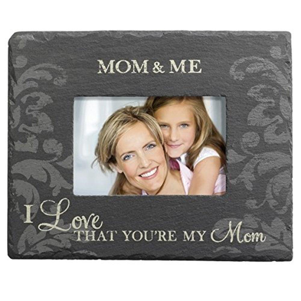 Grasslands Road Slate Photo Frame - '' Mom..''