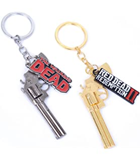 Amazon.com : Red Dead 2 Redemption Keychain Revolver Gun Toy ...