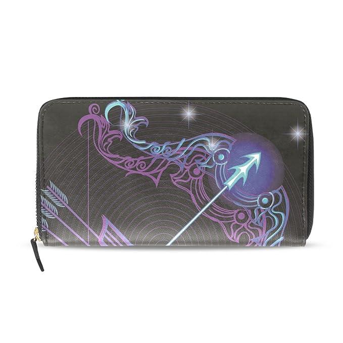 Amazon.com: Cartera con cremallera para mujer Zodiac ...