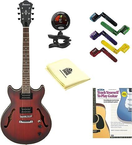 Ibanez Artcore AM53 Semi-Hollow guitarra eléctrica en soporte de ...