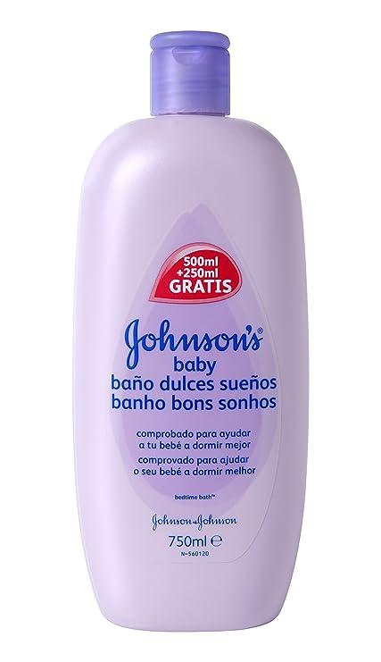 Johnsons Baby - Jabón Liquido Dulces Sueños, 750 ml - [paquete de ...