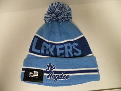 850ecf40ce7 Amazon.com   NewEra NBA Los Angeles Lakers HWC Coach Toque Cuffed ...