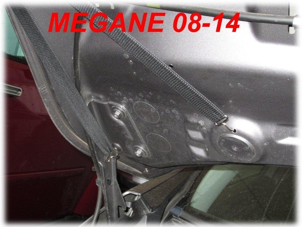 2008-2014 STONEGUARD PROTECTOR TUNING AB-00286 BONNET BRA Megane III Bj