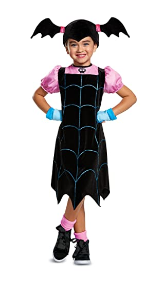 aeae9daff Amazon.com: Girls Toddler Disney Jr. Vampirina Costume: Toys & Games