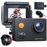 APEMAN A79 4K Action Camera 20MP WiFi External Microphone 2.4G Remote Control Underwater Waterproof 40M Sports Vlog…