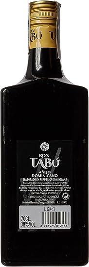 Tabú Ron añejo dominicano (formula mejorada) - 700 ml