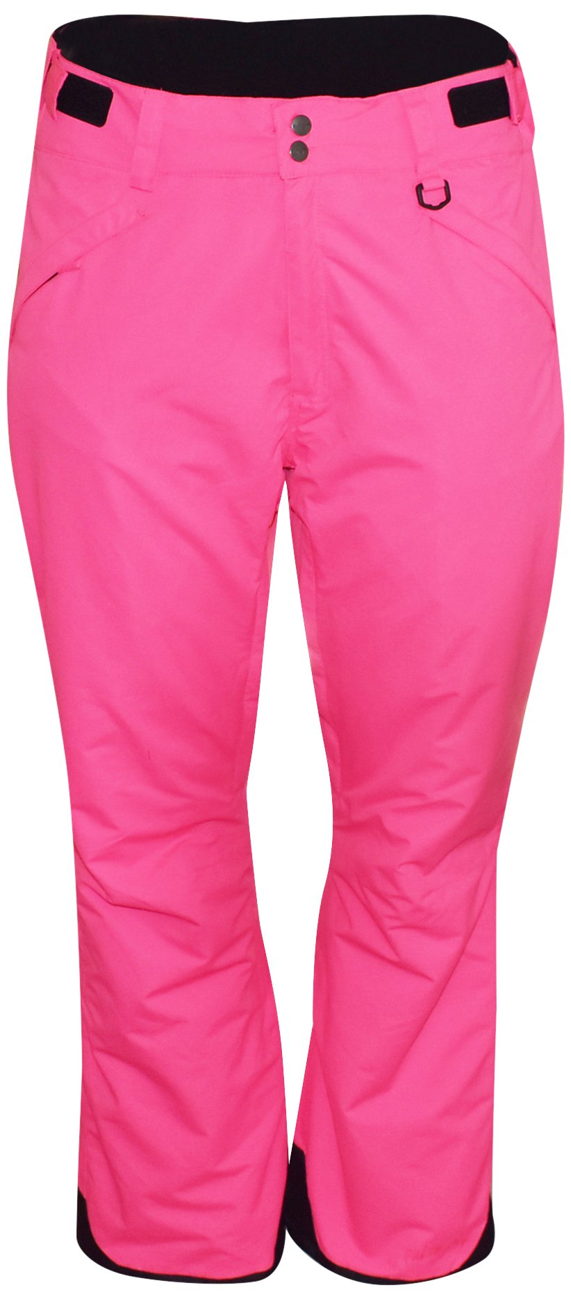 Pulse Women's Plus Size Technical Insulated Snow Pants (4X, Hot Pink)