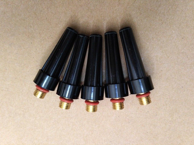 5 pcs of TIG Torch Welding Back Cap 41V24 LONG for WP9,WP20,WP25 series