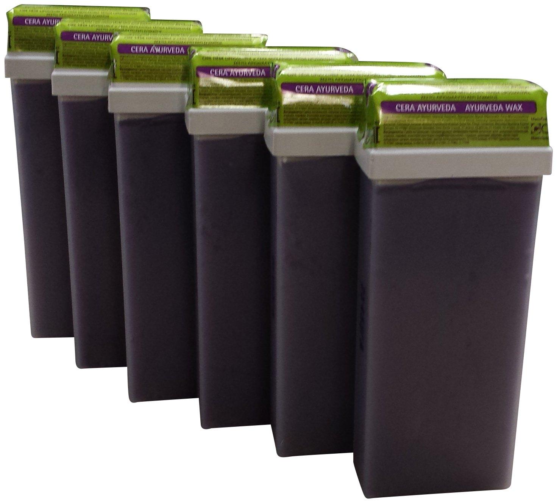 Beauty image ayurveda - Pack de 6 roll - ons de cera depilatoria tibia: Amazon.es: Belleza