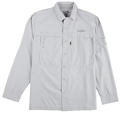 a18fa5202de4b Amazon.com: Salt Life Mens Long Sleeve Offshore Catch Shirt-Small ...