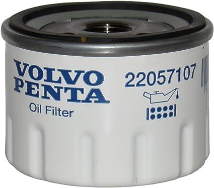 Volvo Penta Oem Ölfilter 22057107 Ersetzt 834337 Sport Freizeit