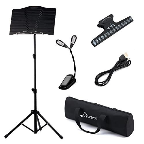 Donner Sheet DMS-1 Folding Travel Metal Music Stand