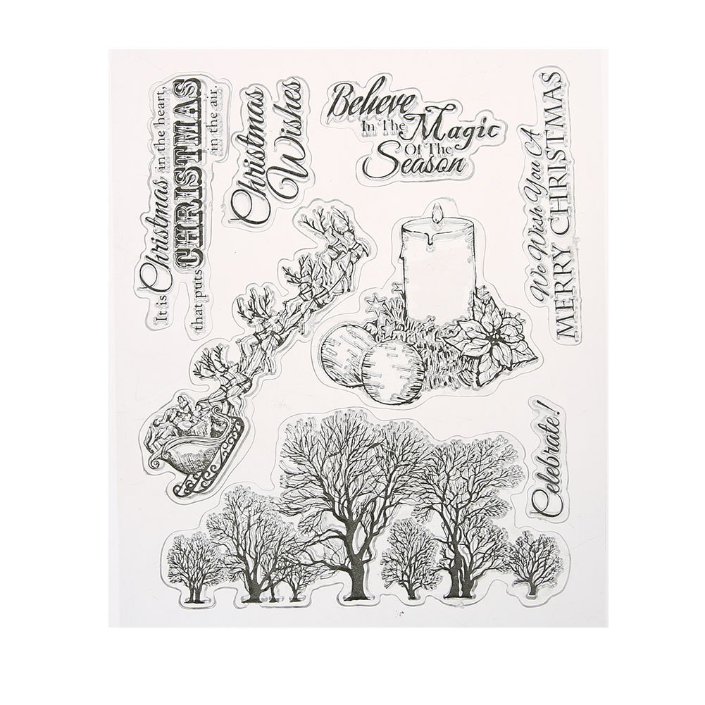 Demiawaking Transparente klare Briefmarke Stempel Clear transparent ...