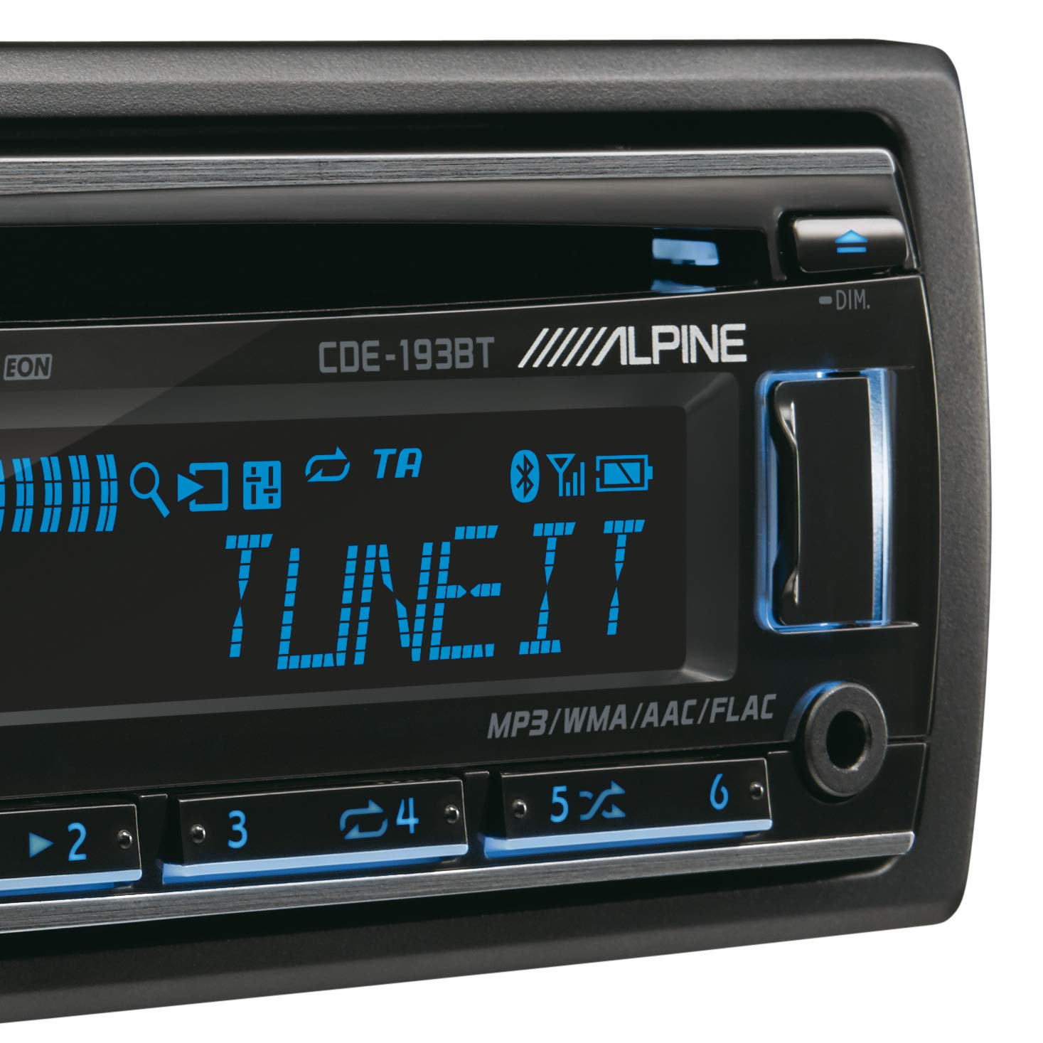 Alpine CDE-193BT Autoradio Bluetooth avec CD//MP3//USB Frontal et entr/ées AUX
