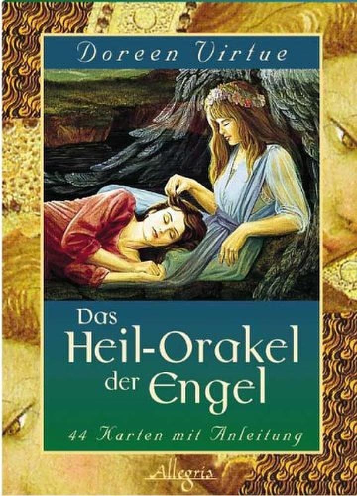 Das Heilorakel der Engel: 44 Karten mit Anleitung Gebundenes Buch – 9. Juni 2005 Doreen Virtue Allegria 3793420175 Esoterik
