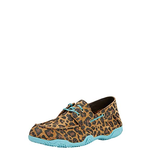 ARIAT Chaussures Caldwell Tan à imprimé léopard pour Femme