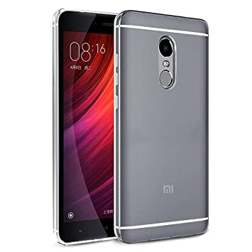 the latest a40d0 b3bfd ORLEGOL Xiaomi Redmi Note 4 Case, Protective Cover TPU Bumper Case Xiaomi  Redmi Note 4 Crystal Clear Case Shockproof Anti Scratch Soft Silicone Phone  ...