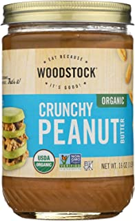 product image for Organic Crunchy Peanut Butter 16 Ounces (Case of 12)