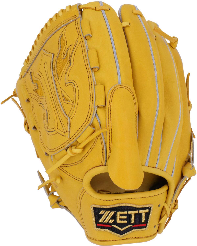 ゼット ZETT 硬式グローブ グラブ プロステイタス 投手用 BPROG610 トゥルーイエロー(5400) 左投用(RH)