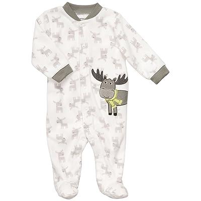 Carter's Baby Boy's Micro Fleece Snap - Moose