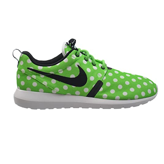 info for 5c421 5d75a Amazon.com   Nike Roshe NM QS Polka Dot Mens  Shoes Green Strike Black-White  810857-300 (10 D(M) US)   Athletic