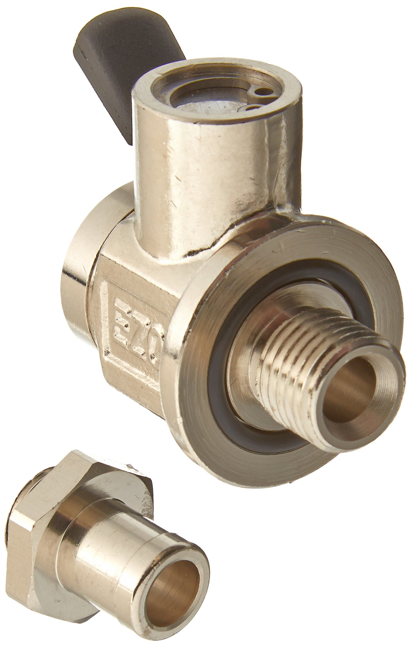 EZ-106 EZ Oil Drain Valve with removable Hose End Combo by EZ Oil Drain Valve