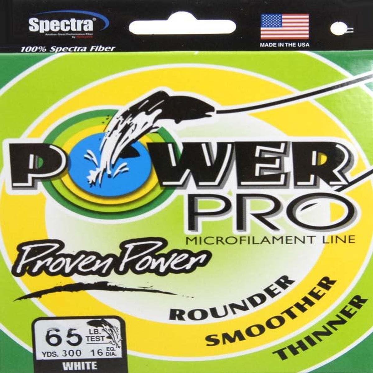 POWER PRO PowerPro 21100650300W Spectra Fiber Braided Fishing Line