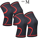 Knee Sleeve, 711TEK Knee Support Brace for Joint Pain and Arthritis Relief, Improved Circulation Compression - Wear…