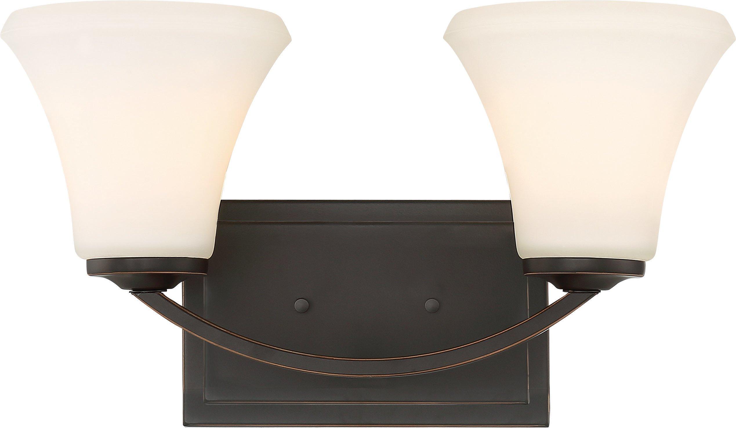 Nuvo Lighting 60/6302 Fawn 2 Vanity Fixture - Mahogany Bronze Finish