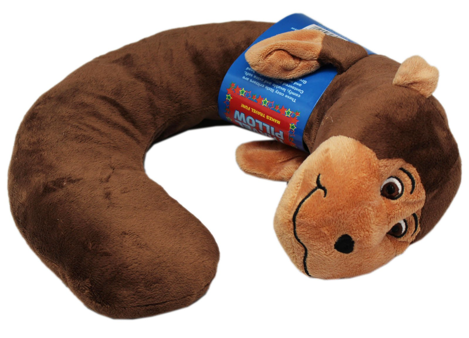 Northpoint Animal Characters Travel Pillow (Monkey)