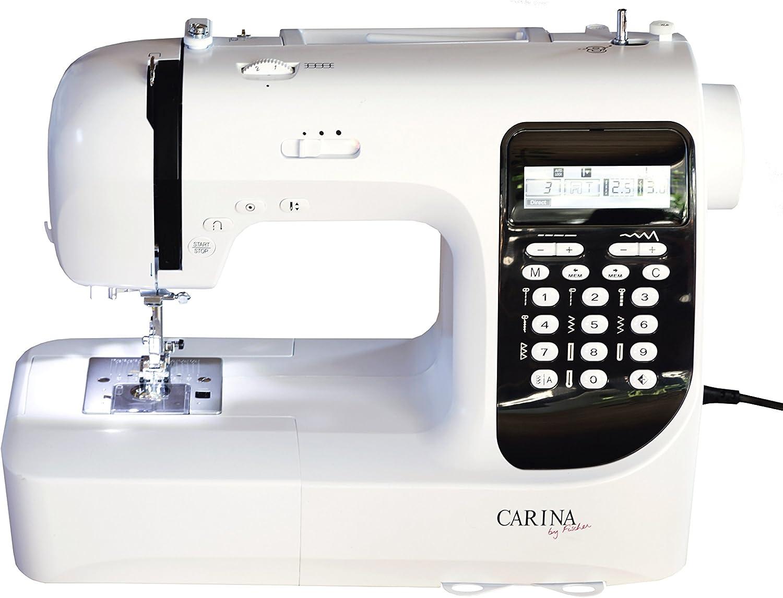 Máquina de coser CARINA Premium Evolution 2.1: Amazon.es: Hogar