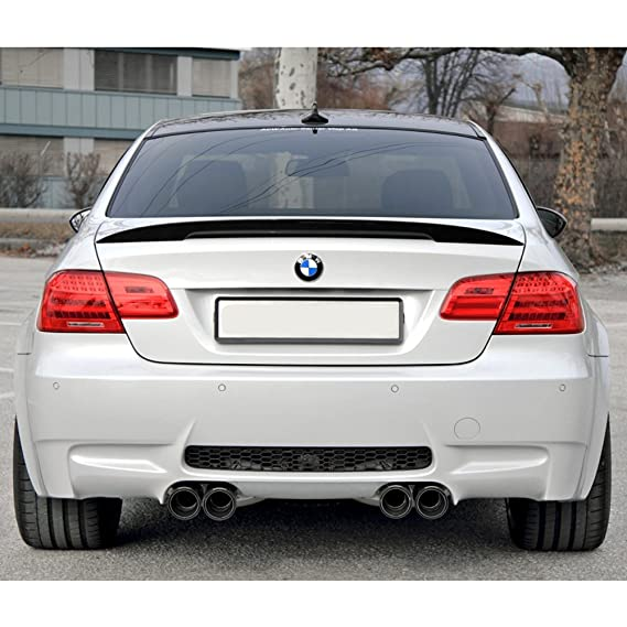 2007 2008 2009 2010 Trunk Spoiler Fits 2006-2011 BMW E90 3 SERIES SEDAN AC-S Style ABS Rear Deck Lip Wing Bodykits Body kit by IKON MOTORSPORTS