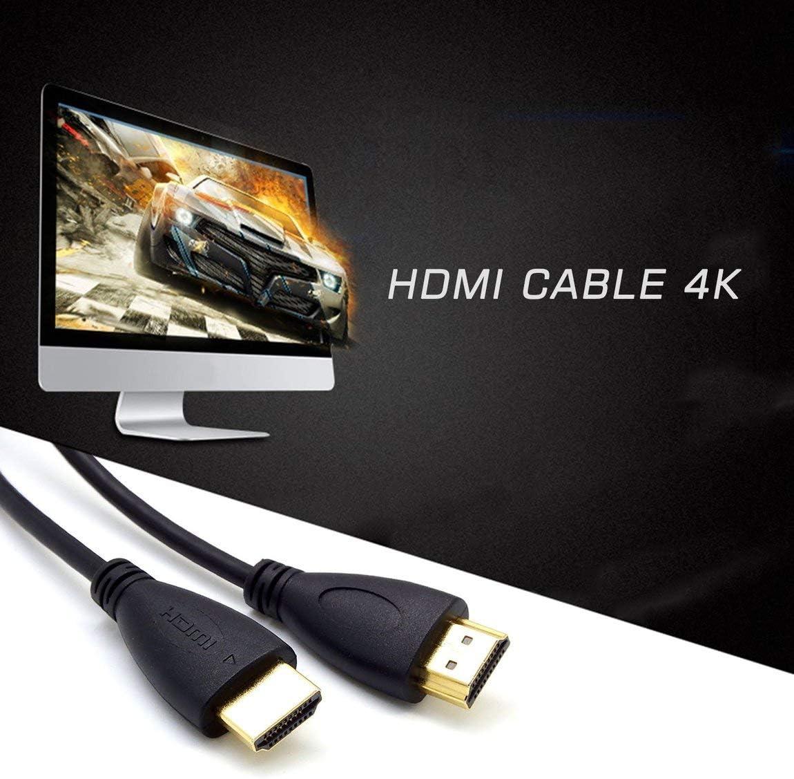 SeniorMar Einfach zu bedienendes HDMI 1.4 3D-Kabel Multifunktionsfernseher Ultra HD Ultra Slim-Verbindungskabel Hochaufl/ösende Hochgeschwindigkeitsleitung f/ür den Heimgebrauch