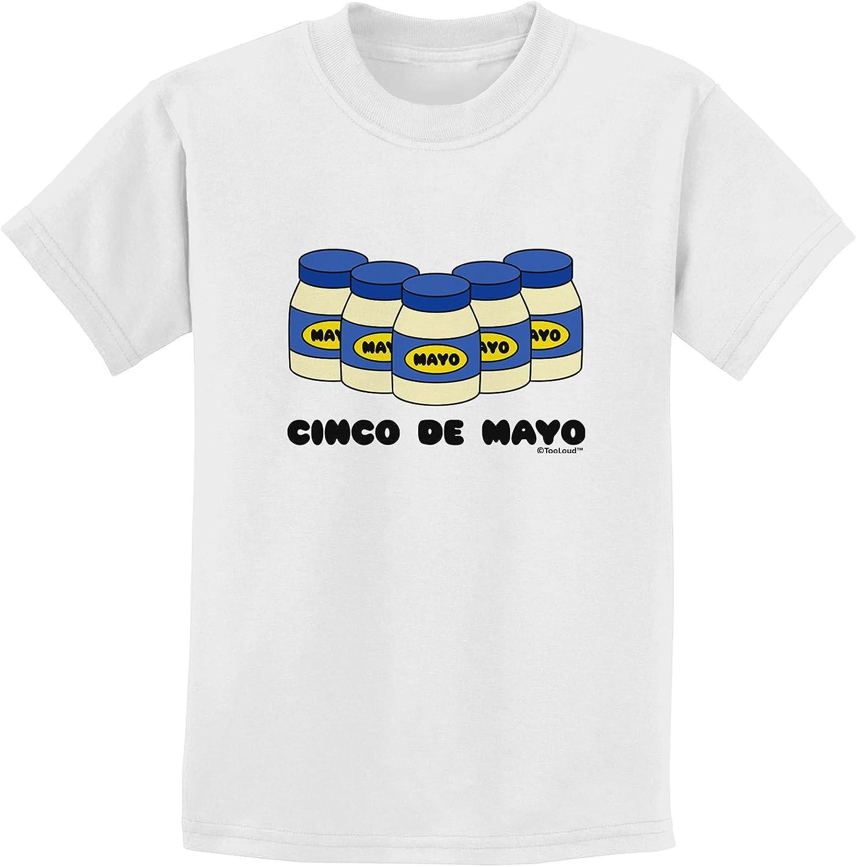 TooLoud Cinco de Mayo 5 Mayo Jars Toddler T-Shirt