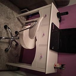 HOMCOM Mueble Mesa Recibidor Tipo Consola de Entrada y Mesa ...