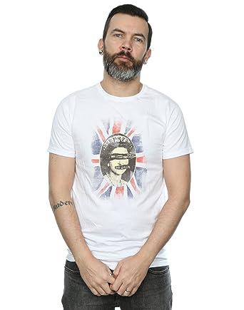 1e78f85a5624b Absolute Cult Sex Pistols Hombre God Save The Queen Camiseta  Amazon.es   Ropa y accesorios