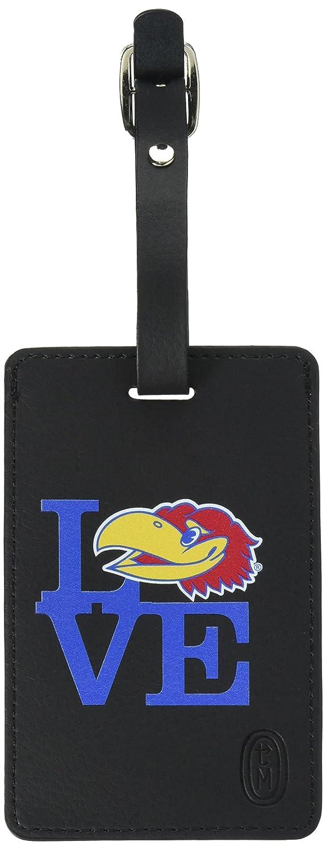 good OTM Essentials University of Kansas Bag Tag, Love, Black