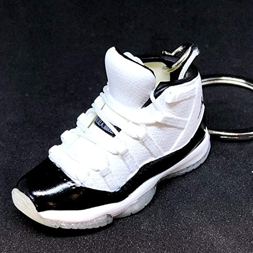 Amazon.com: Air Jordan XI 11 High Retro Concord Black White ...