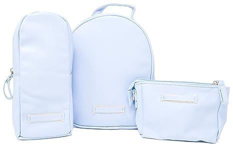 Bolsa para comida bebe, Guarda biberones, Guarda chupetes bebe, Porta biberones, Porta chupetes (Azul)