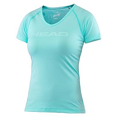 Head Camiseta de transición con Cuello en V para Mujer, Camiseta ...