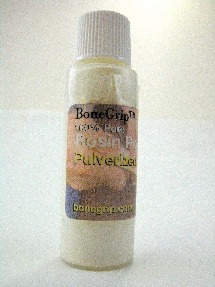 Mill Pulverized 100% Pure Rosin Powder, vial, Net Wt: .15 oz (4 g), Vol: .5 oz