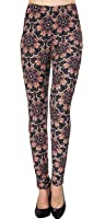 VIV Collection Best-Selling Printed Brushed Leggings Plus Size (L - XXL) Listing 5