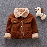 Clearance SALE, Kshion Toddler Infant Newborn Baby Winter Button Coat Cloak Jacket Warm Thick Liner Outerwear
